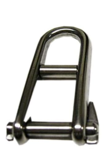 6mm STAINLESS STEEL MARINE KEY PIN DEE SHACKLE with PIN boat halyard yacht deck